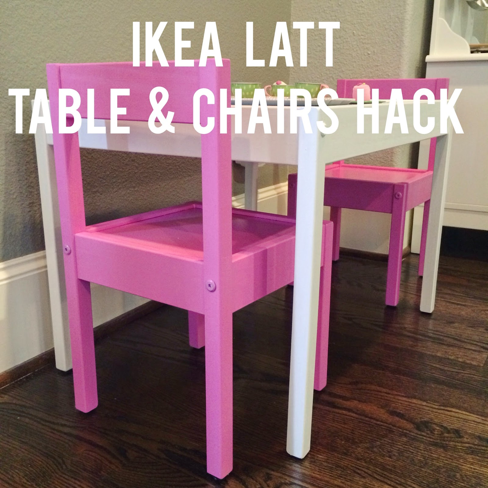 Ikea Küche Kinder Family Card Ikea Hack LÄtt Playtable Chairs Veronika S Blushing Bloglovin