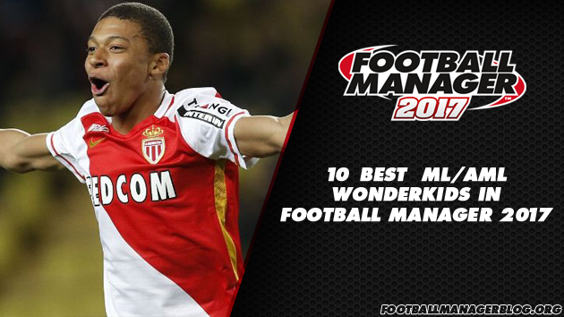 Football Manager 2017 Wonderkids - Wingers Left