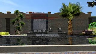 Taman dan kolam renang III - www.jasataman.co.id