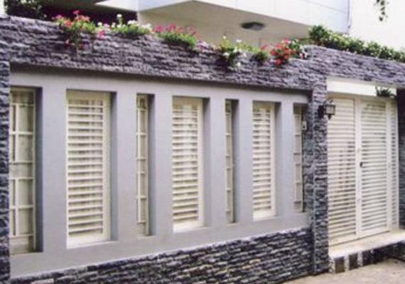 Galeri Pagar Rumah Mewah  inspirasi terpopuler 24 pagar rumah samping