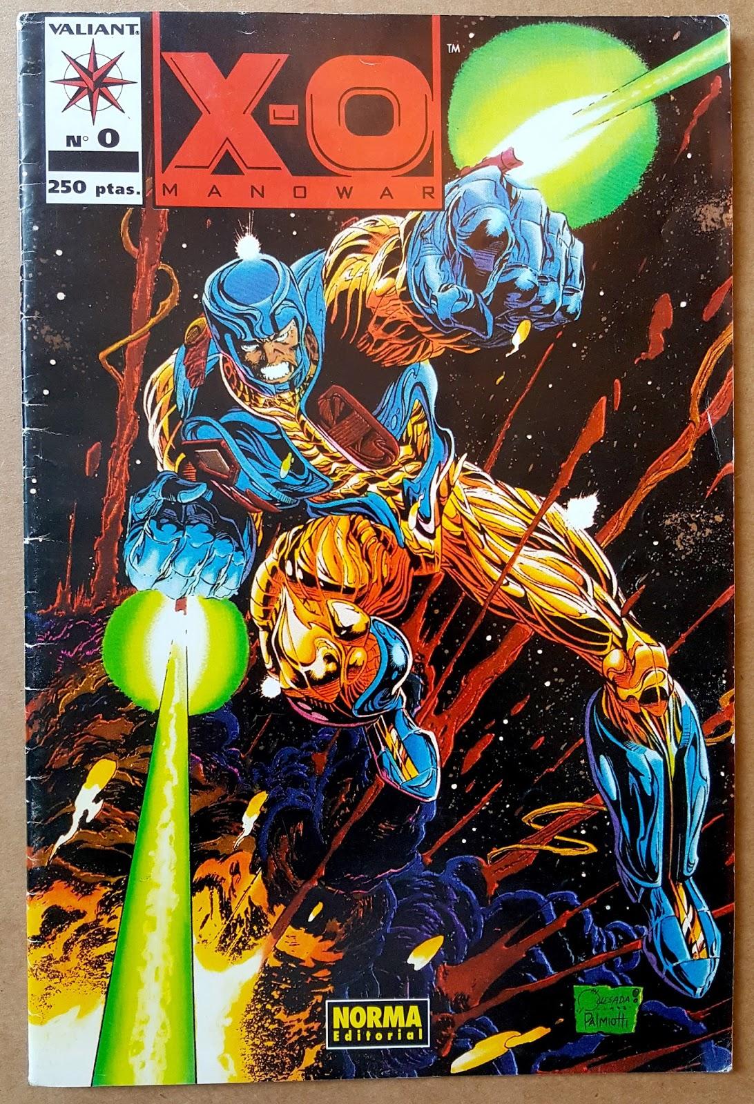 Valiant Bloodshot 6 Comic Book VEI 1st appearance of Ninjak #6