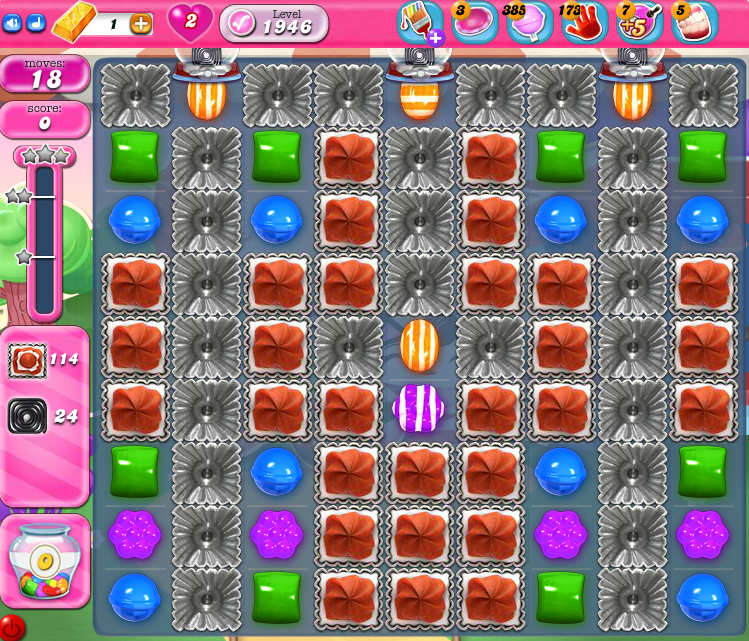 Candy Crush Saga 1946