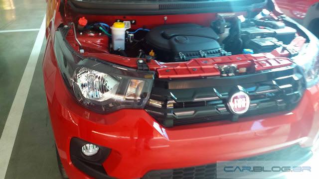 Fiat Mobi x Volkswagen Up!