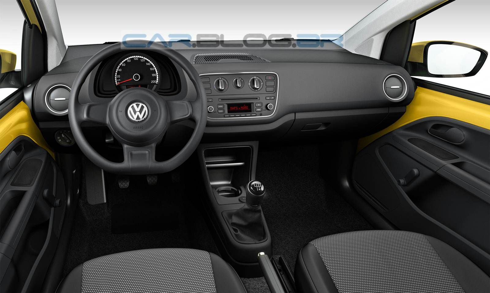 volkswagen take up vers o de entrada do up fotos oficiais car blog br. Black Bedroom Furniture Sets. Home Design Ideas
