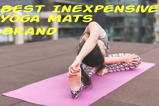 Best inexpensive yoga mats brand