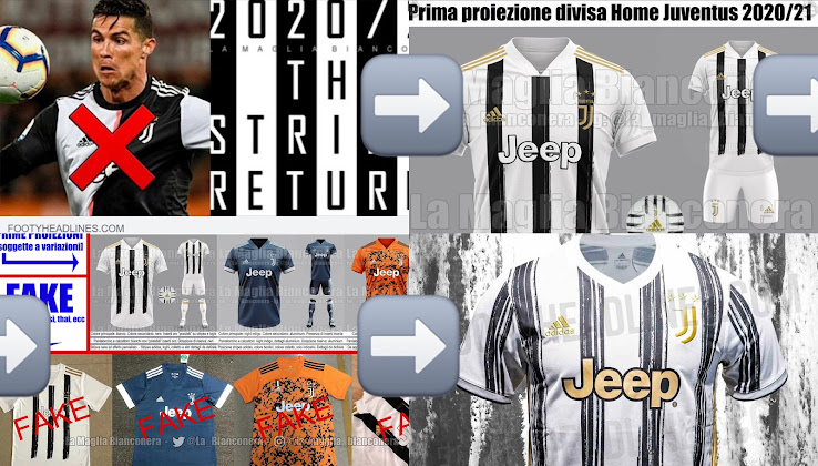 Leak Evolution Adidas Juventus 20 21 Home Kit Footy Headlines