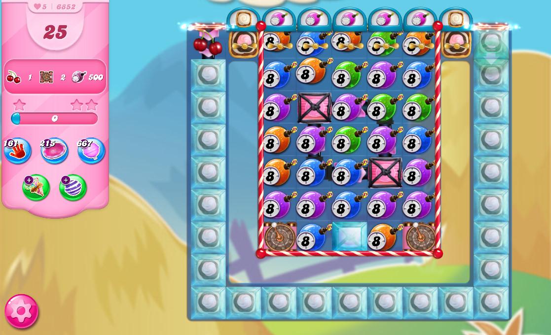 Candy Crush Saga level 6852