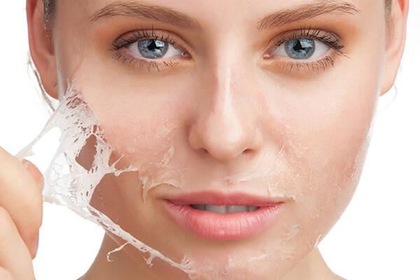 كيفية تقشير بشرة الوجه