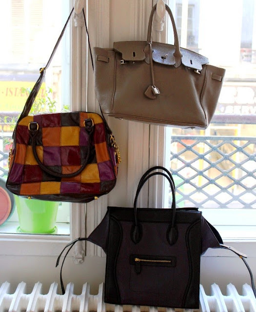 Bags from Birkemeyer Gallery in Marrakech, Morocco
