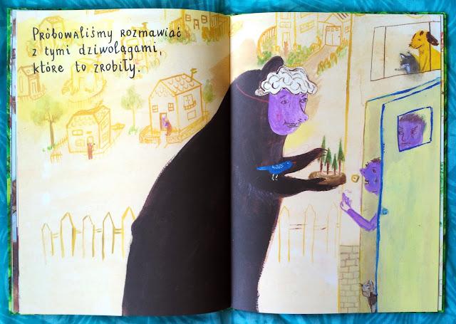 Fioletowe dziwolągi - ludzie