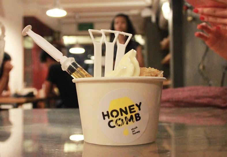 Honey Comb... stuck on honey?