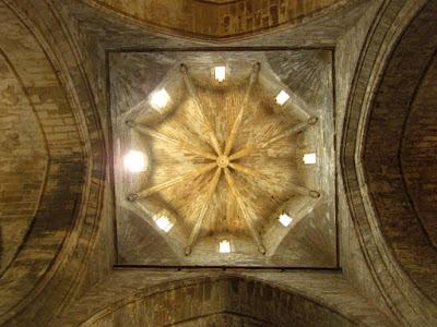 Cimborrio en la iglesia del monasterio de Vallbona de les Monges