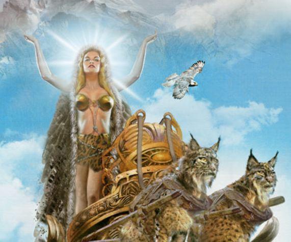 Goddess Freya Goddess Of Love And Death