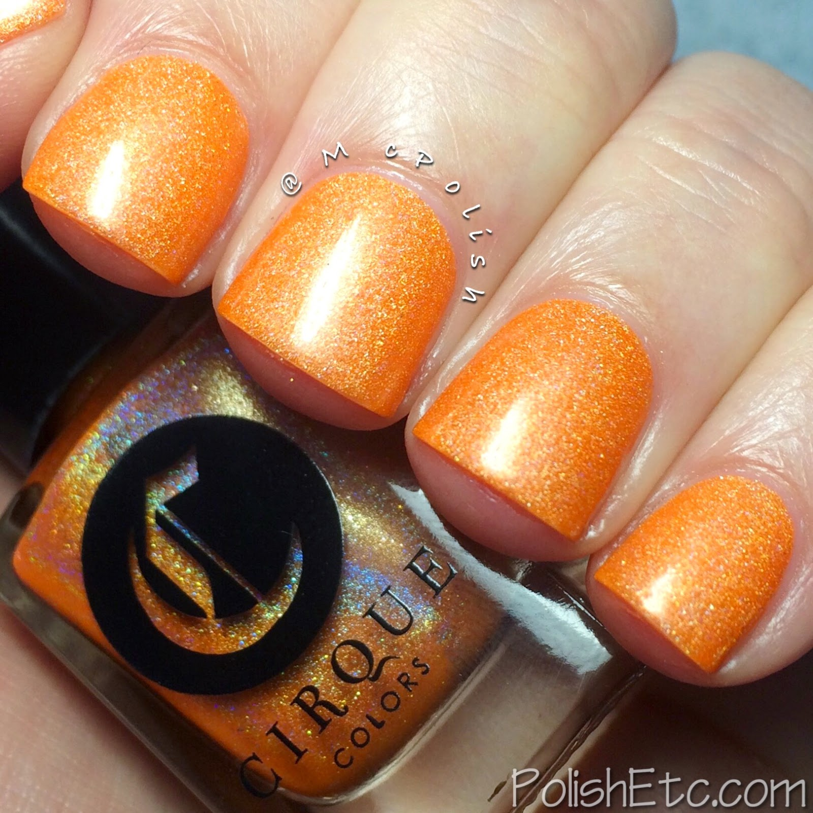 Cirque Colors - Magic Hour Collection Holos - McPolish - Sun Dog