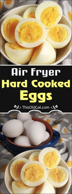 Air Fryer Hard Cooked Eggs