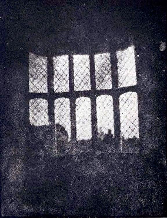Primer calotipo de Talbot. 1835