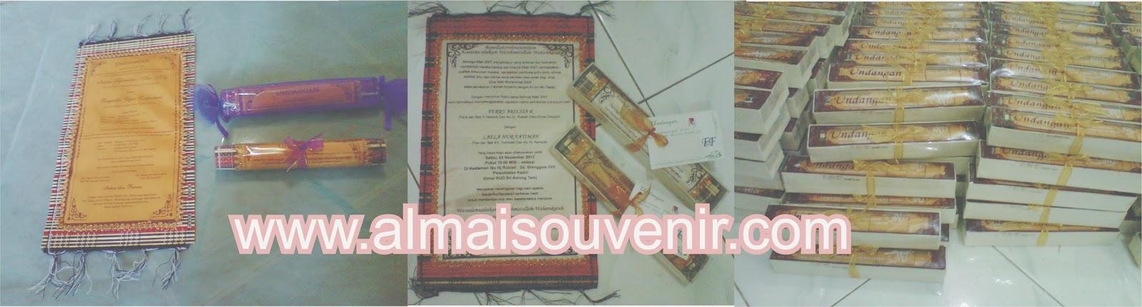 undangan plismate dengan kemasan tile, undangan plismate kemas plastik , undangan plismate , undangan unik, undangan etnik, undangan pernikahan murah