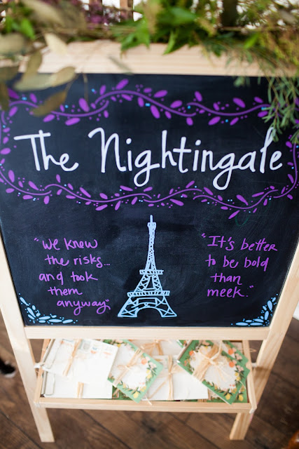 The Nightingale, Chalkboard