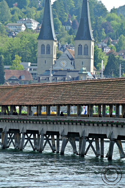 Lucerne coovered bridge