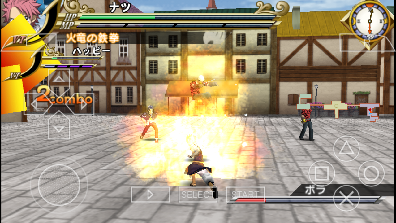 Fairy Tail - Portable Guild (Japan) APK + ISO PSP Download ...