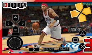 تحميل لعبة كرة السلة psp Nba 2k13 محاكي PPSSPP بصيغة CSO/ISO للاندرويد من ميديا فاير