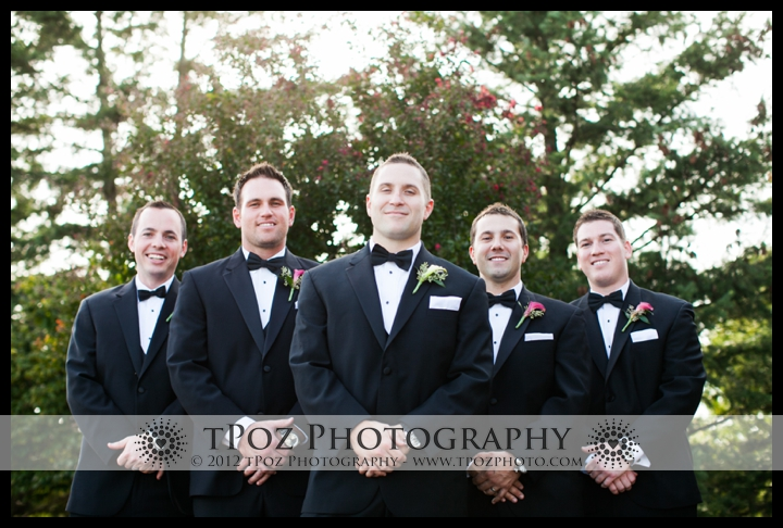 Groomsmen Hillendale Country Club Photo