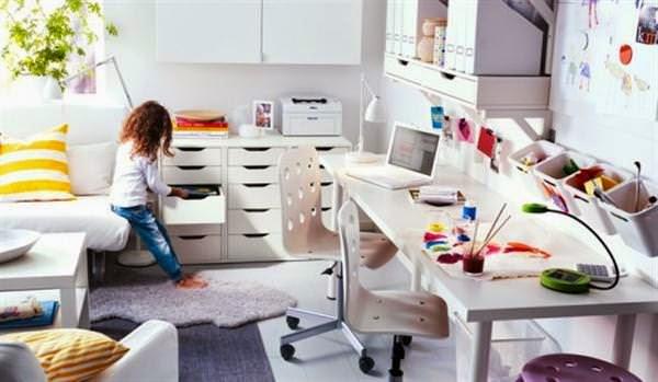 4 pautas a tener en cuenta para crear una zonas de trabajo de nuestros hijos