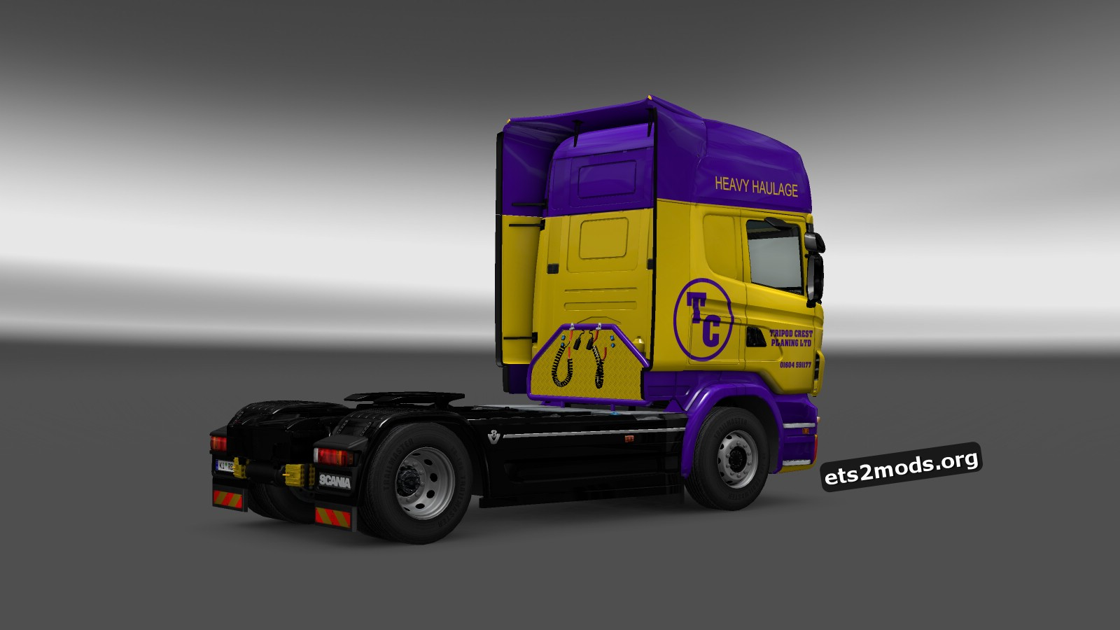 Tripod Planing Skin for Scania RJL