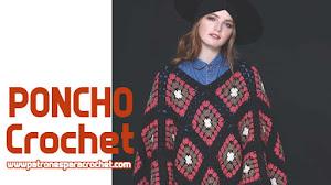 Poncho Para Tejer con Ganchillo DIY