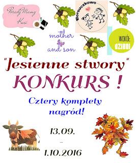 "Konkurs ""Jesienny Stworek"" wygraj nagrody od matek blogerek!"