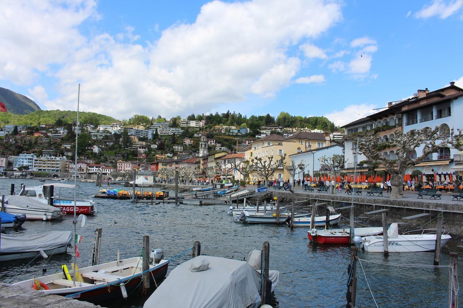 Ascona Hafen, Tessin