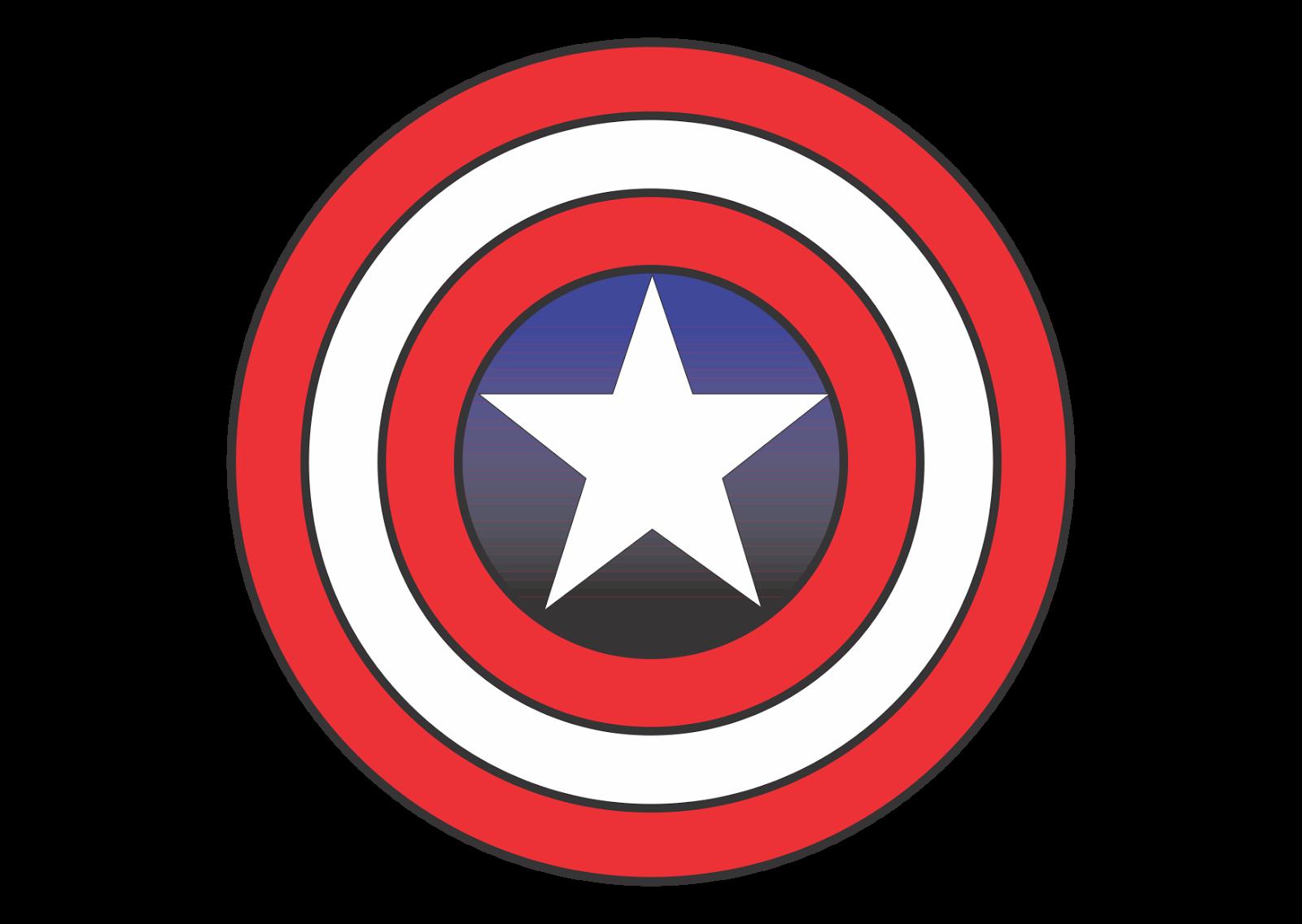 Captain America Wallpapers Captain America Logo Vector Fictional