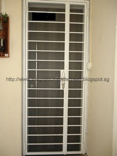 DIY Magnetic Insect Screen Singapore Installation on 07/06/2012 - HDB 4 room & DIY Magnetic Insect Screen Singapore: Installation on 07/06/2012 ...