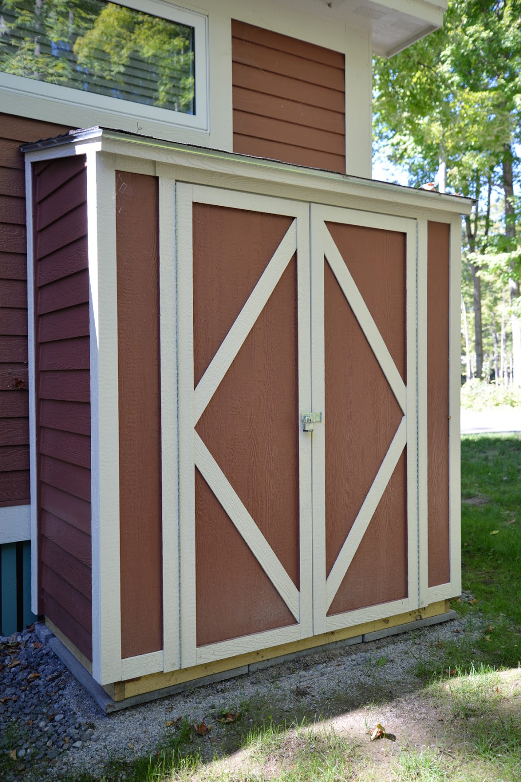 building a Home Depot storage shed assembly and instructions | Ramblingrenovators.ca