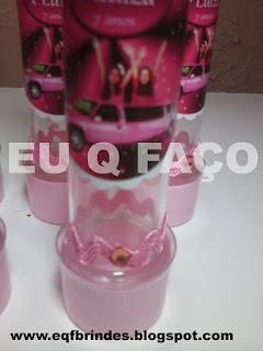 limousine rosa, tubete, lembrancinha, brindes, festa, personalizados, infantil