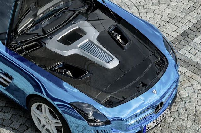 Engine Mercedes SLS AMG Coupe Electric Drive