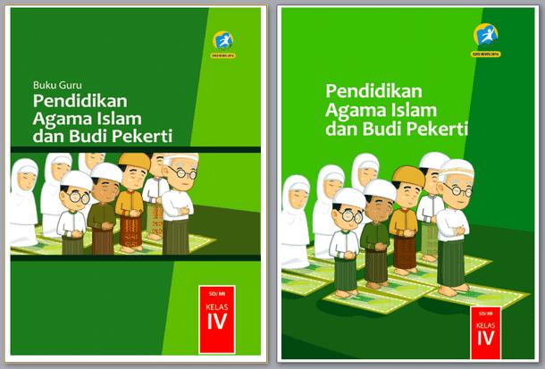 Buku Pendidikan Agama Islam Kelas 4 SD Kurikulum 2013 Revisi 2017