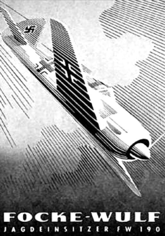 Focke-Wulf Fascist airplane ads worldwartwo.filminspector.com
