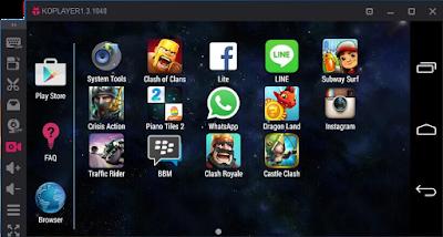 Emulator Android KoPlayer