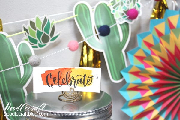 Celebrate with brightly colored fiesta party supplies and decorations that will double as home decor.