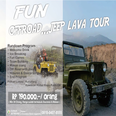 PAKET OUTBOUND JEEP LAVA TOUR