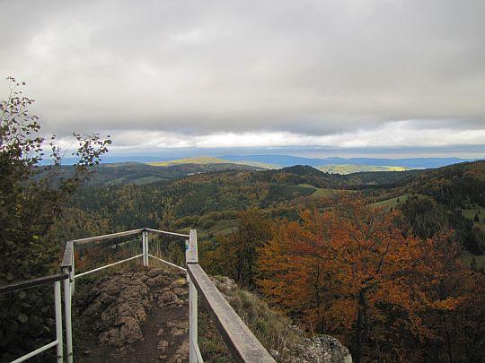 Widok w kierunku przełęczy Rozdziela.