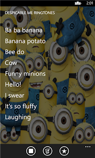 despicable me ringtones