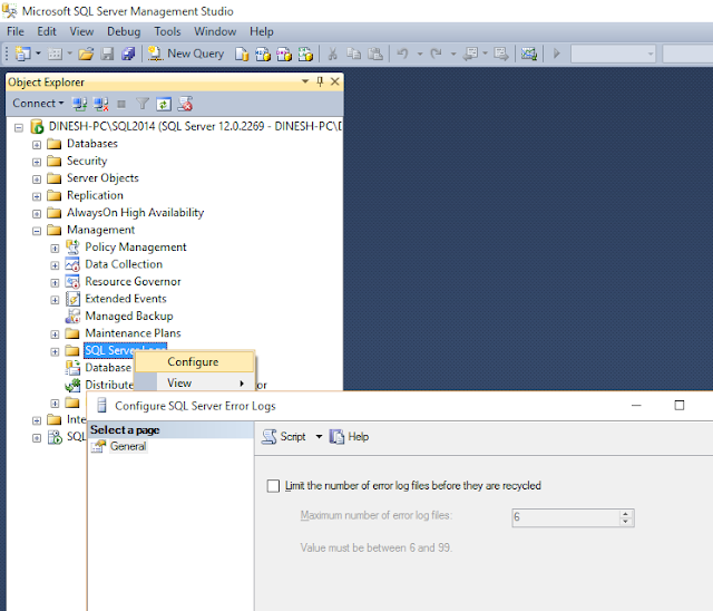 Error Log: Dinesh's Blog :::: Being Compiled ::::: How To Delete
