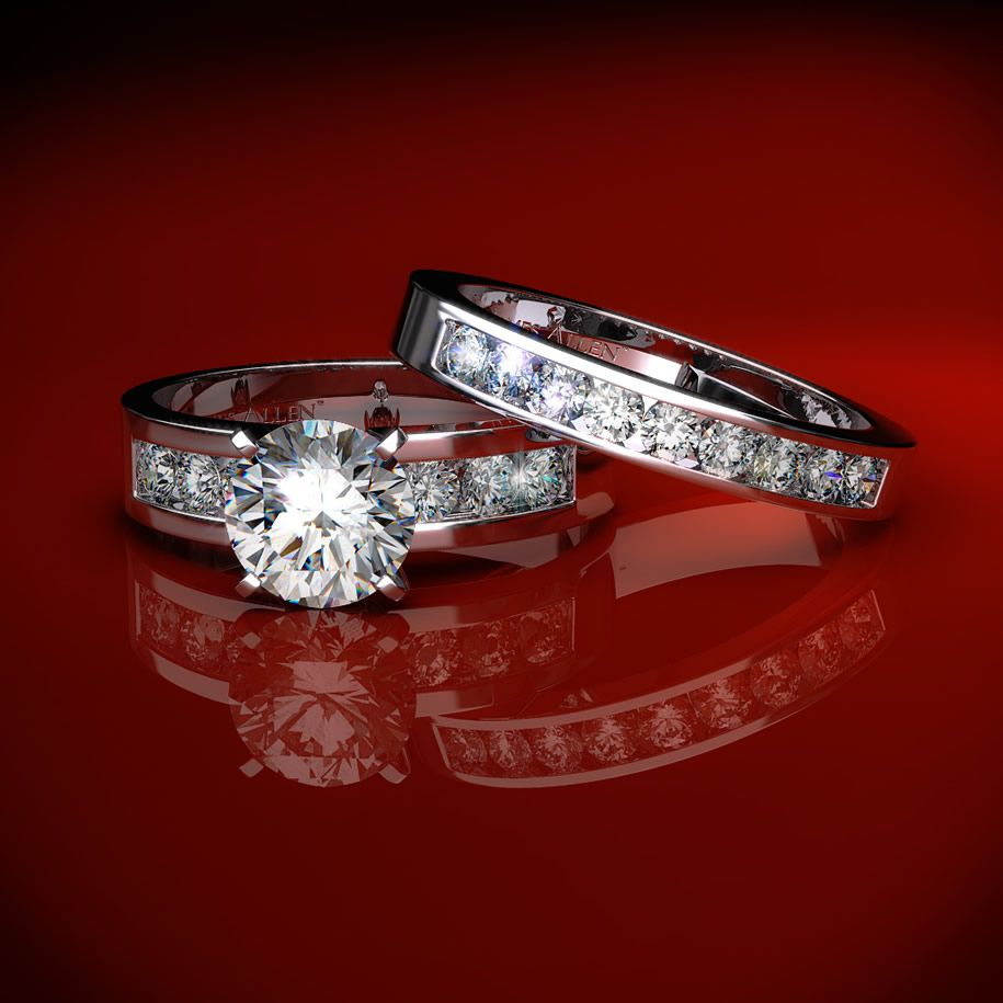 beautyful of ring: Engagement Wedding Ring Sets-Inspirate ...