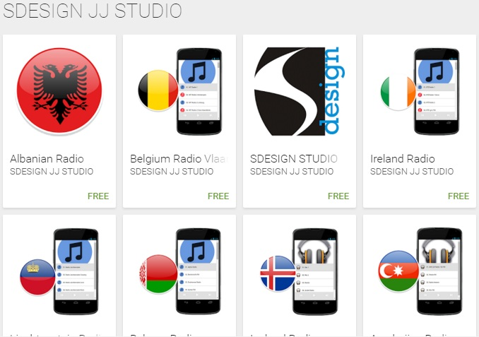 SDESIGN JJ STUDIO in Google Play