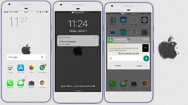 Cara Mengubah Tampilan HP Oppo Menjadi iPhone Work 100%