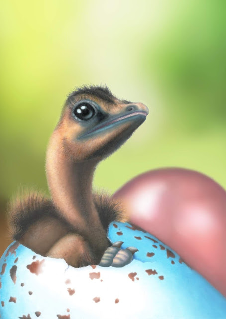 Dinosaurs put all coloured birds' eggs in one basket, evolutionarily speaking