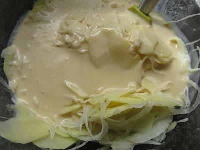 Milhojas de patata relleno Thermomix
