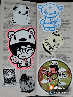 sticker art books
